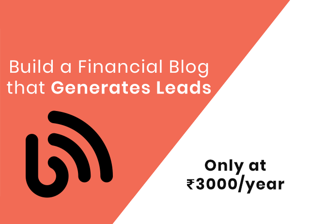 build a blog at Rs.599 per month