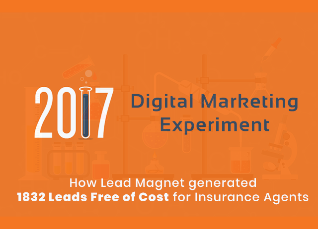 How Lead Magnet generated 1832 Leads free of cost for Insurance Agents?