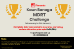 Kaun Banega MDRT? Virtual game competition for LIC Agents